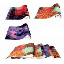 Full color print yoga mat