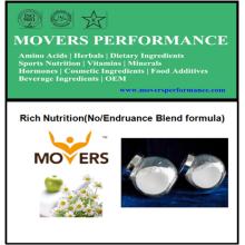 Nutrición rica del OEM (fórmula de la mezcla de No / Endruance)
