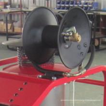 Enrouleur en acier inoxydable de 3 pouces pour machine de lavage de voiture