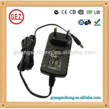 Adaptador de energia de venda quente 15v 1.5a kc