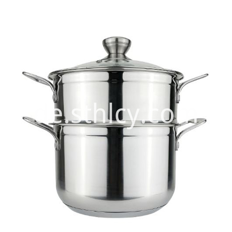 Stainless Steel Pot Without Coating