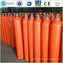 Cilindro de Hélio de Aço Inoxidável Recarregável 50L (EN ISO9809)