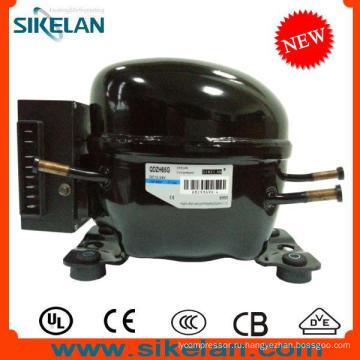 Высокая эффективность компрессор постоянного тока 12В 24В компрессор Qdzh65g хладагента R134a LBP для автомобиля холодильник морозильник