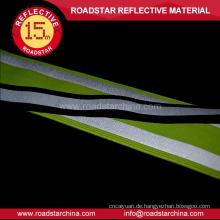 Warnung grüne Lycra reflex Polyesterband