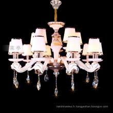 White chandelier light fixture of ceiling zinc chandelier hangling lighting 88636
