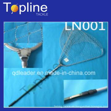 Plegable Landing Net con aparejos de pesca de la manija de Alu con OEM