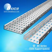 Preços de bandejas de cabo prateado 400x100 mm