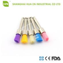Disposable colorful Dental Prophy Brush polishing brush