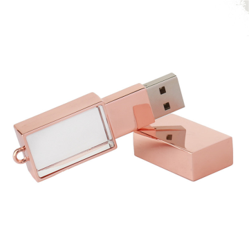 Pen drive flash USB cristal 128 GB
