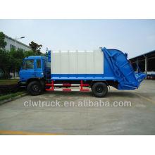 Dongfeng 153 12-15m3 Camión de basura, camión de basura 4x2 para la venta