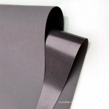 Food Safe Laminated Pul Dark Grey Color Polyester Peach Skin 75D 210T TPU Fabric