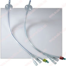Single Use 3 Way Standard Silicone Foley Balloon Catheter
