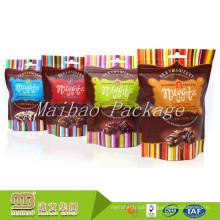 Custom Sizes Printing Food Grade Packing Aluminum Foil Lined Plastic Heat Seal Chocolate Bar Packaging Bag