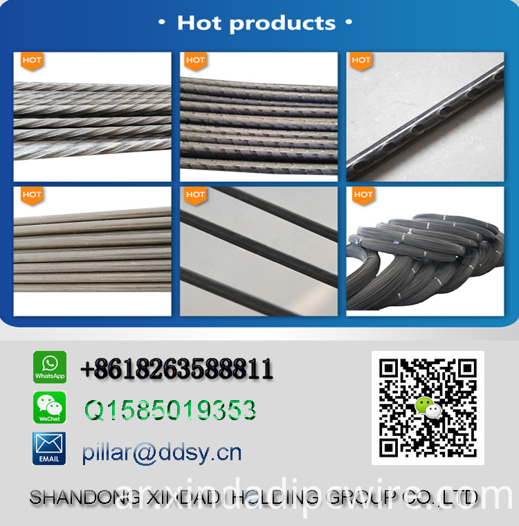 PC wire 4.8mm 7mm export to Indonesia