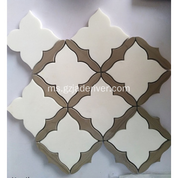 Batu Marmer Natural Mosaic Tiles Wholesale