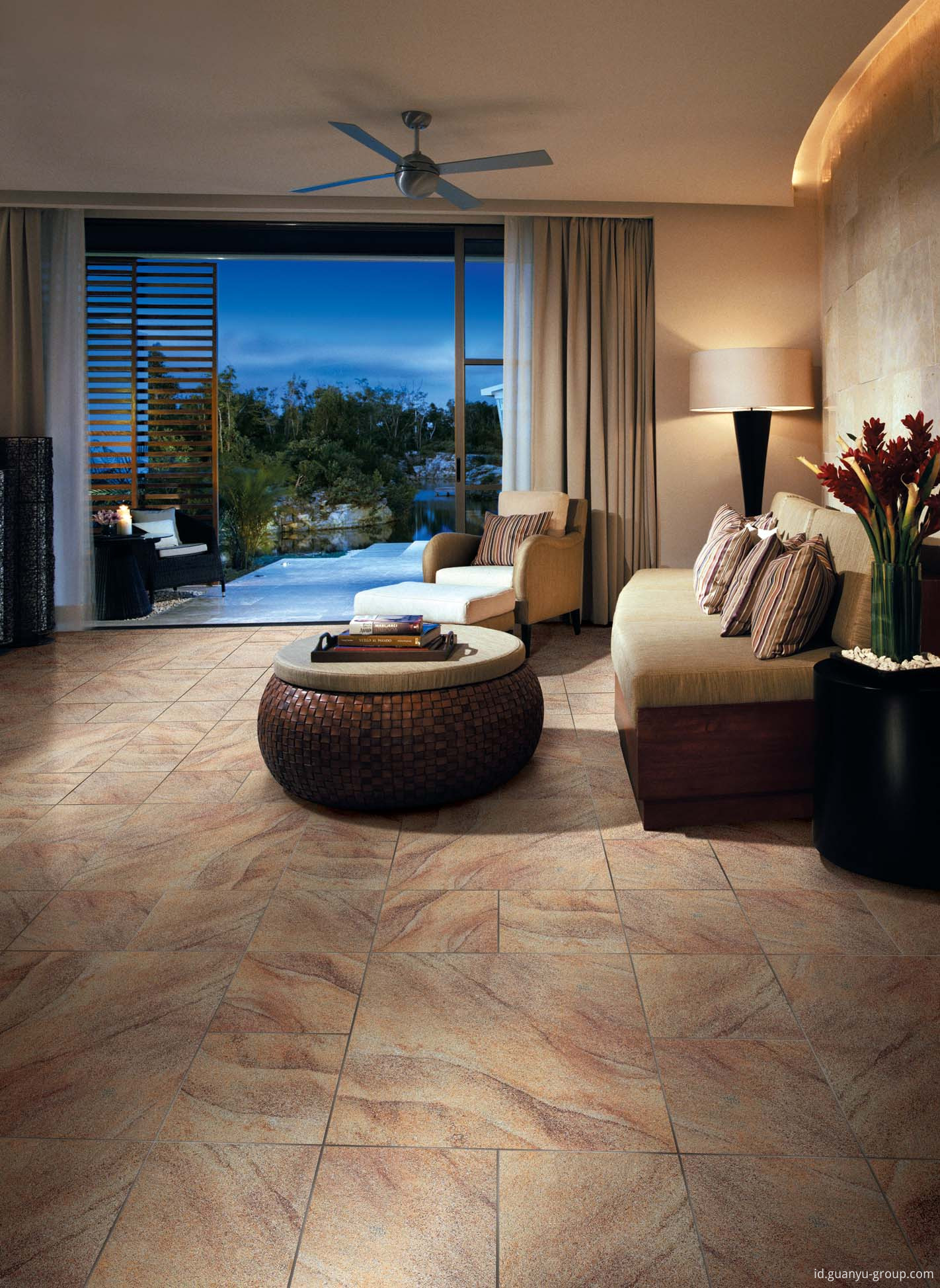 Luxury Lappato Blown Sand Rustic Tile