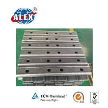 S49 Railway Fish Plate Joint Bar for Steel Rail Fastening