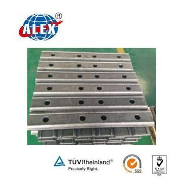 S49 Barre d'articulation pour plaque de poisson ferroviaire pour la fixation de rail en acier