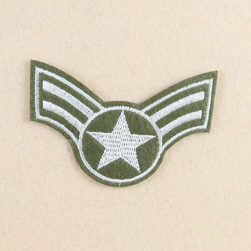 Military Badge Embroidery Patch