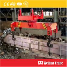 Rotatable Scrap Box Handling Crane