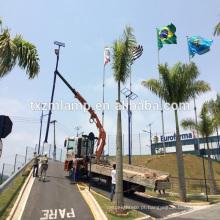 a luz de rua de poupança de energia nova da energia solar de YANGZHOU / com alumínio conduziu o alojamento da luz de rua