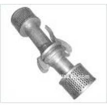 bauer type coupling with strainer
