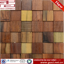 china manufacture wall tile for house design wood mosaic tile