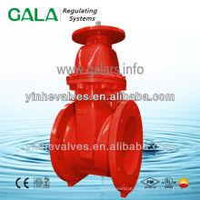 ul fm gala fire protection stem gate valve