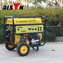 BISON(CHINA)New Design 6500 7500 GX420 15Hp Gasoline Generator With Strong Frame