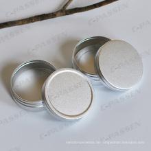 High-End oxidiert Silber Kosmetik Creme Jar