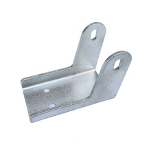 custom stamping parts holder bracket flat u shaped metal brackets for wood