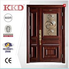 2015 New Steel Door KKD-910B For Mother&Son Door Leaf Design From China Top Brand KKD