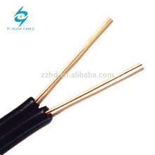 Drop Wires 2 Core BC / CCA / CCS Cat3 Cable de cobre de 10 pares