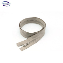 Free sample open end color customized normal teeth nylon zipper