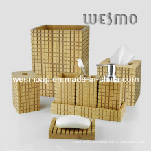 Accesorio de baño de bambú carbonizado (WBB0454A)