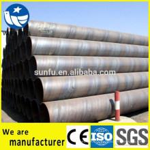 IOS CE SGS certificat SSAW / LSAW Q235B tuyau en acier