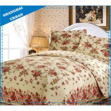 Capa de cama com estampa de algodão 100% (colcha)