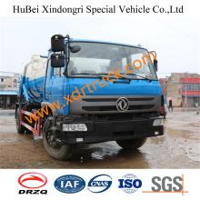 Popular Model 7.8cbm Suction Sewage Truck