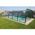 Polykarbonat Pool Cover Transparent Dome Shelter