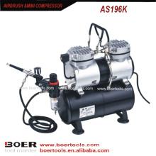 Airbrush Compressor Kit mit 3,5 Liter Tank ist eine Minipumpe
