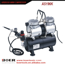 Airbrush Compressor Kit with 3.5L tank make up mini pump