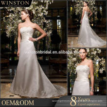 High quality off puffy wedding dress 2016