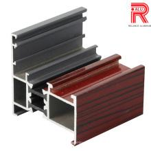 Китай Наилучшее качество OEM алюминий / алюминиевые профили Extrsion для окна / двери / занавес стены