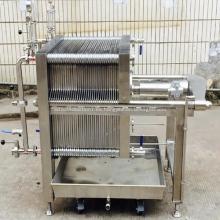Prensa de filtro de acero inoxidable multicapa certificada CE