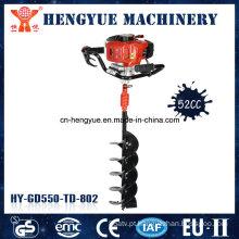Máquina de perfuração de aterramento a gasolina de 52 cc