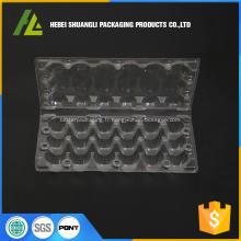 Boîte à oeufs de caille en plastique de 18 cellules