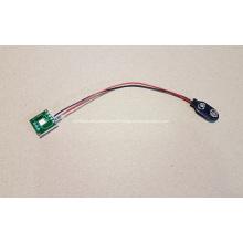 LED-Blinkmodul für Pop-Display, LED-Blinker, Tastenleuchte, Einzelleuchte mit Batteriehalterstecker