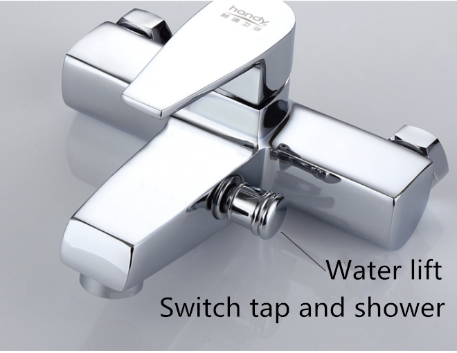 Wall Mounted Tub Mixer Taps