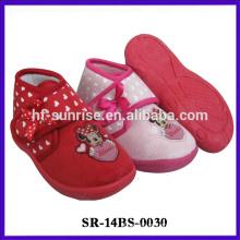 Zapato de bebé de cuero suave niño