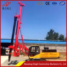 Good quality  rotary hydraulic pile driving machine